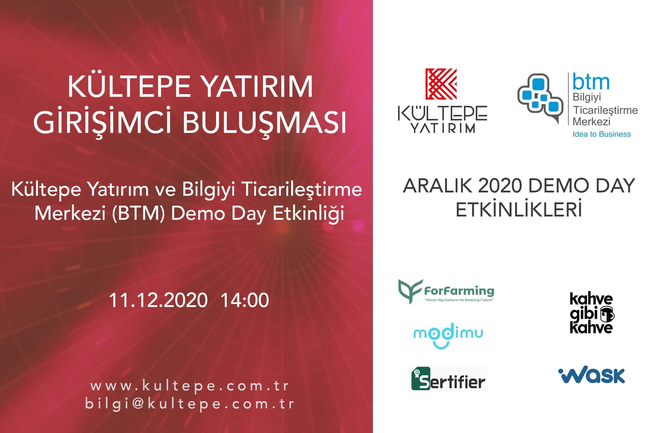 Kültepe Yatırım - BTM demo day