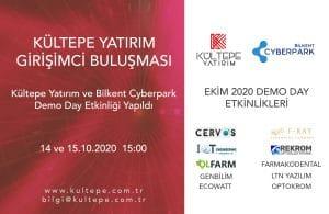 Bilkent Cyberpark Kültepe Yatırım demo day