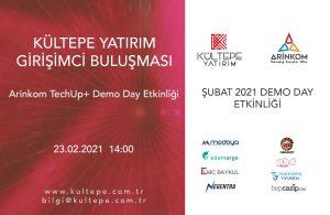 Arinkom TechUp Kültepe Yatırım DEmo Day