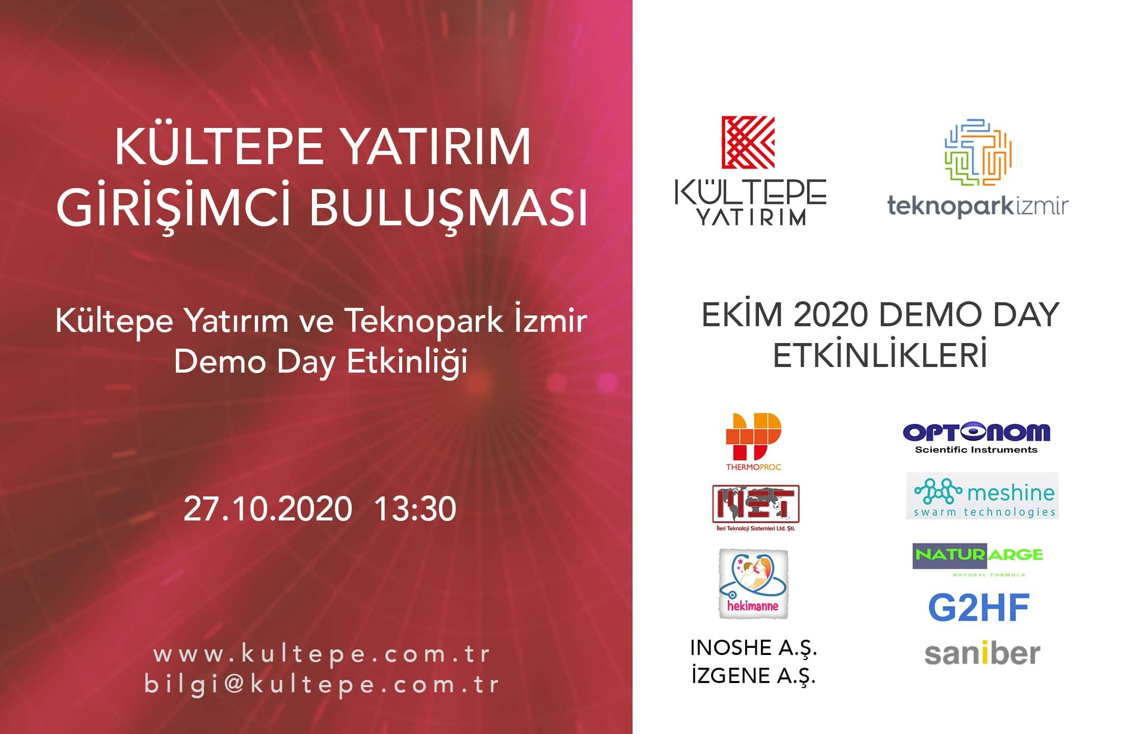Kültepe Yatırım Teknopark İzmir Demo Day
